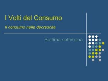 livello di consumi - Economia