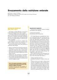Svezzamento dalla nutrizione enterale - TimeOut intensiva