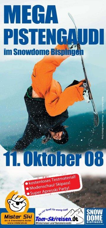 PISTENGAUDI - Tom-Skireisen