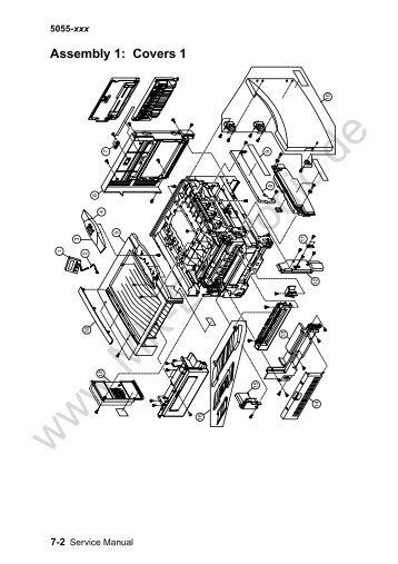 lexmark c91x printer service repair manual