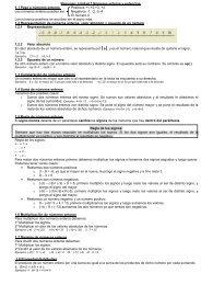 Resumen: Unidad 1 Números enteros y potencias ... - Aprendalia.org