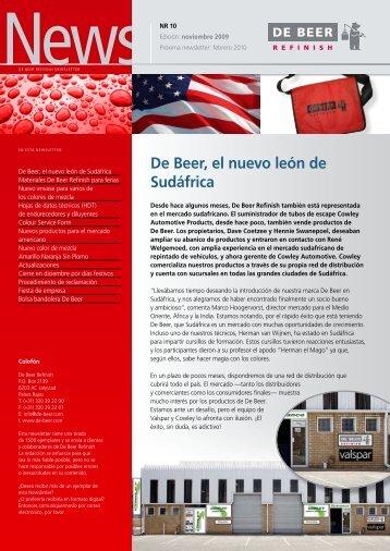 Noviembre 2009 - De Beer Refinish