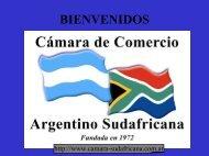 Presidente de la Cámara de Comercio Argentino - Sudafricana