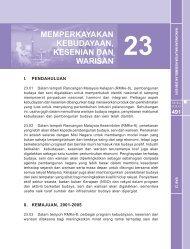 bab 23: memperkayakan kebudayaan, kesenian dan warisan - EPU