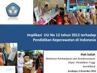 Implikasi UU No 12 tahun 2012 terhadap Pendidikan ... - Aipni