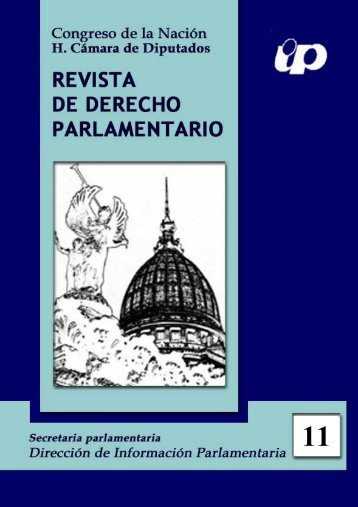 Revista de Derecho Parlamentario Nº 11 - Honorable Cámara de ...