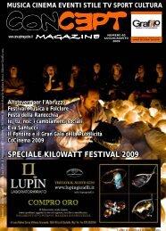 CONCEPT LUGLIO 2009 - Concept Magazine