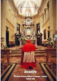 scarica file PDF (1 Mb) - Parrocchia Santuario Madonna in Campagna