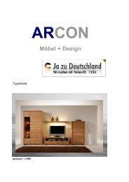 Möbel + Design - ARCON Gmbh & Co. KG