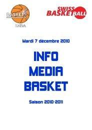 Mardi 7 décembre 2010 Saison 2010-2011 - 1-2-3-4-5-6