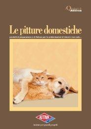 LE PITTURE DOMESTICHE [.pdf, 2.03 MB] - Attiva Colori e Toni