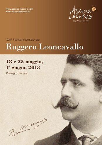 Ruggero Leoncavallo - Ottavio Palmieri