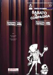 libretto di sala.indd - Società Cooperativa Drammatica Filarmonica ...