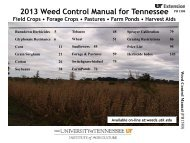 Updates for Weed Control - UTcrops.com