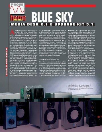 blue sky media desk 2.1 e upgrade kit 5.1 blue sky media desk 2.1 e ...