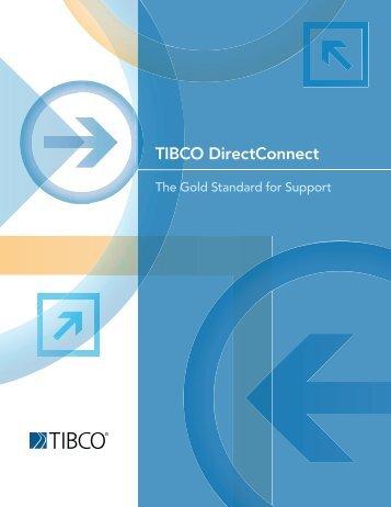 TIBCO DirectConnect SM