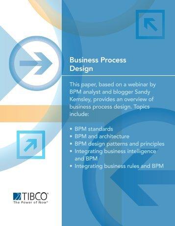 Business Process Design - Tibco