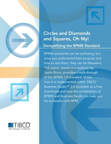 Circles and Diamonds and Squares, Oh My! Demystifying the ... - Tibco
