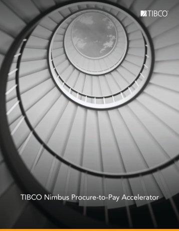TIBCO Nimbus Procure-to-Pay Accelerator