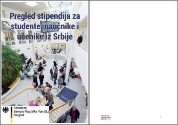 Pregled stipendija za studente, naučnike i učenike iz Srbije - DAAD ...