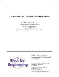 EM Demystified: An Expectation-Maximization Tutorial - Electrical ...