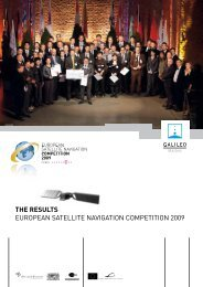 Results 2009 pdf - European Satellite Navigation Competition