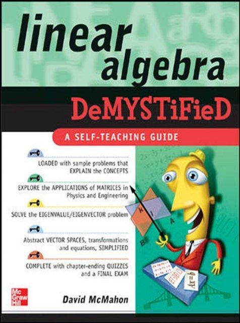 Linear Algebra Demystified pdf