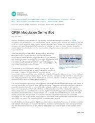 QPSK Modulation Demystified - Tutorial - Maxim