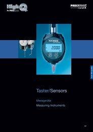 Taster/Sensors - PRECITOOL CZ