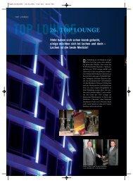 26. TOP LOUNGE - TOP Magazin
