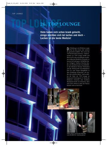 26. TOP LOUNGE - TOP Magazin