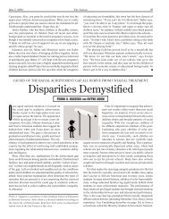 Disparities Demystified - NYU Steinhardt