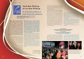 Nach dem Weltcup ist vor dem Weltcup Po Světovém ... - Top Magazin
