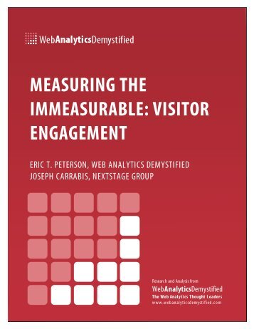 Visitor Engagement - Web Analytics Demystified