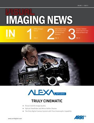 View January 2013 Issue - Visual Imaging News