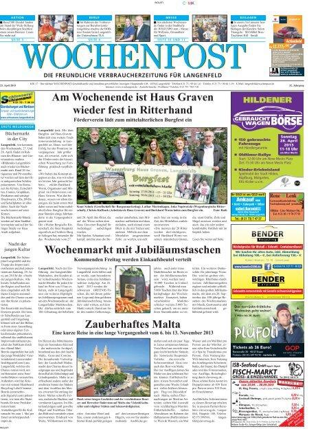 Langenfeld 17-13 - Wochenpost