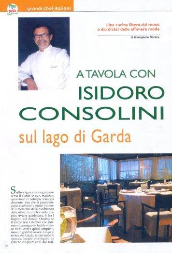 a tavola con isidoro consolini - Ristorante al Caval
