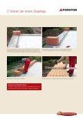 Verarbeitung gefüllter POROTON- Ziegel: Einfach ... - ENEV-Online.de - Page 5