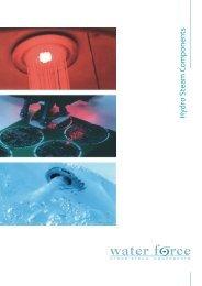 Посмотреть каталог гидромассажных систем Water Force или ...