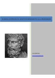 IN DIFESA DI IPPOCRATE: SCRITTI IN ... - HOME PAGE