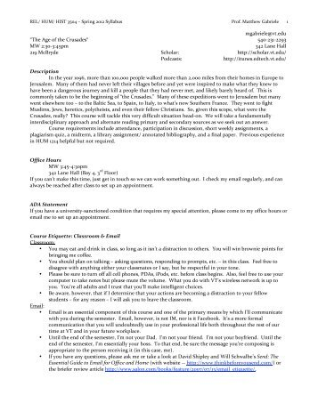 REL/ HUM/ HIST 3504 - VTechWorks