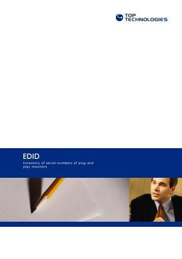 EDID - TOP TECH