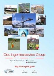 Geo Ingenieurservice Group - Das Örtliche