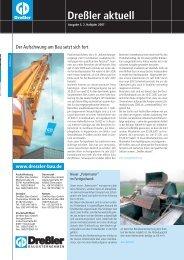 Dreßler Aktuell - Ausgabe 05 - Dreßler bau