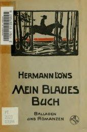 Mein blaues Buch : balladen