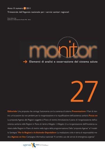Monitor n. 27 - Age.Na.S.