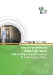 Core competencies for infection control and hospital hygiene ...
