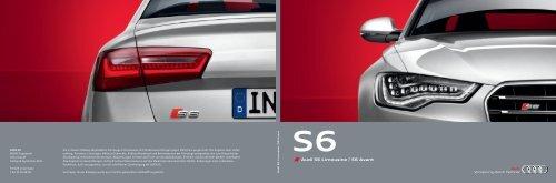 Audi S6 Limousine   S6 Avant