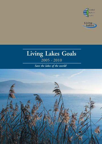 Living Lakes Goals 2005 - 2010