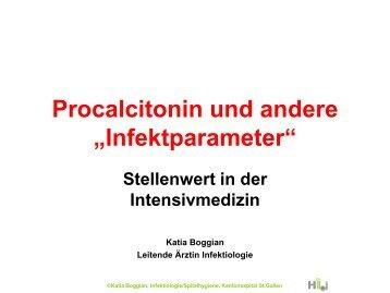 PCT und andere Infektparameter - aktueller Stellenwert in der ...